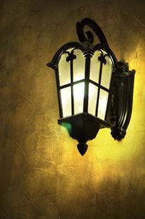 怀旧风格的墙面景观灯
