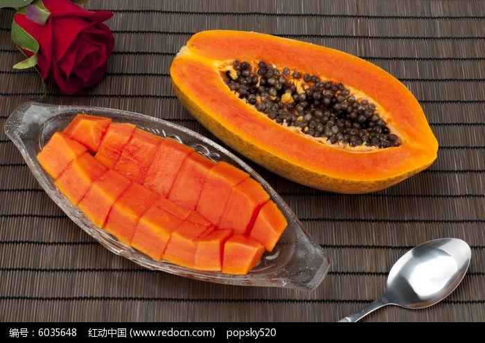木瓜蔬菜水果,美味大图_图片素材高清哪里哈密的好吃美食图片
