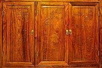 木柜雕刻画