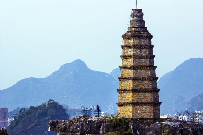 桂林塔山图片,高清大图