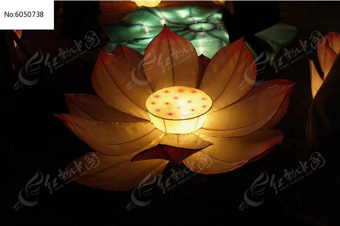 莲花灯图片,高清大图_节日庆典素材