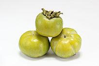 绿色的柿子