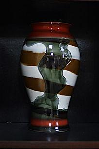 浓抹重彩胶釉瓶
