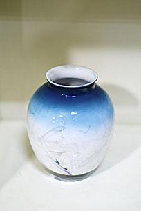 天青色胶釉罐
