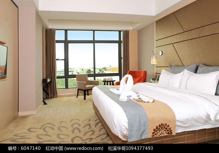 星级酒店客房装饰设计图片