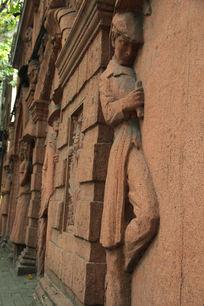 砖雕艺术刻画