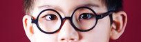 一双男孩的眼睛