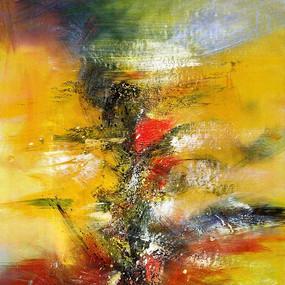 抽象艺术背景墙壁画