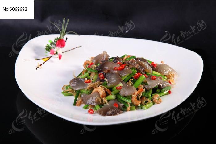 原创摄影图 餐饮美食 中国菜系 港式小炒辽参图片