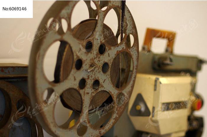 老式电影放映机图片