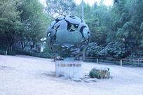 浙江杭州中国最佳旅游城市标志