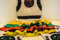 蒙古族摔跤服
