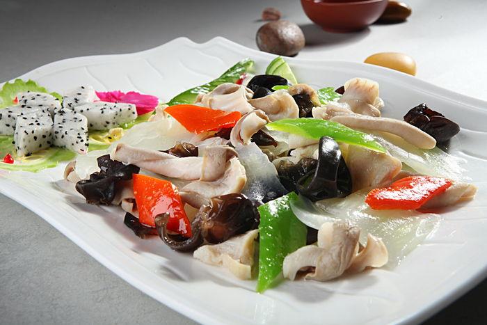 白菜木耳溜肚片良食记大米图片