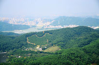 深圳梧桐山中国地图