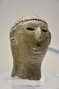 仰韶文化陶俑首