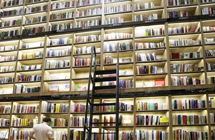 海沧书店书架图片,高清大图 工作场所素材