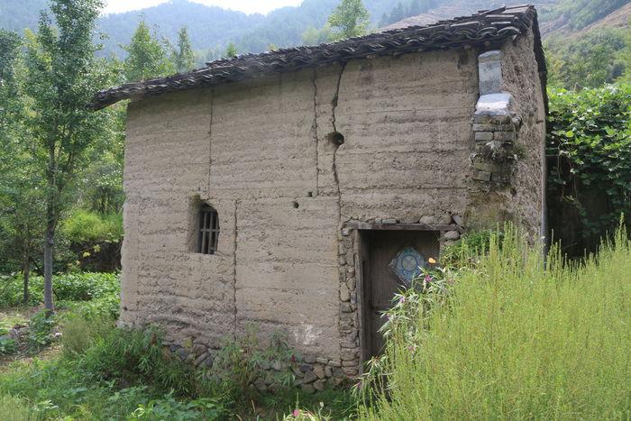 农村土房子图片