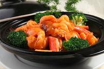 一品海味煲海鲜煲蟹柳鲍仔
