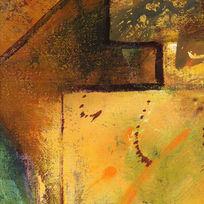 高清晰抽象油画