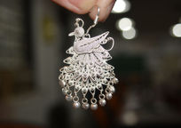 苗族银饰耳环