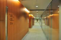 企业办公楼走廊