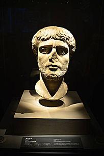 佛罗伦萨考古博物馆藏男性头像