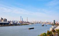 上海黄浦江及周边建筑风光