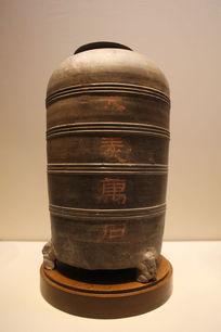 西汉时期大豆万石陶仓
