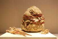 西汉时期毡帽