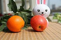 米菲苹果橙子
