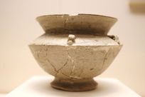 西周时期原始瓷豆