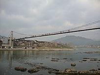横过清水江的索桥