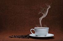 咖啡饮品正面中景