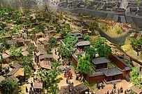 前蜀成都城内全景图