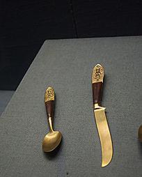 清朝的洋勺子和刀子