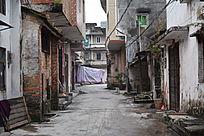 乡村街道早晨摄影