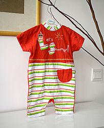 婴儿连体T恤
