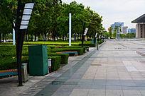 中心广场的风景