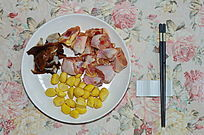 栗子炒鸡肉