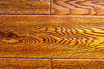 枣红色实木地板纹理