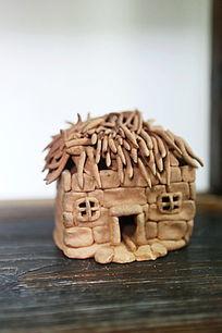 创意卡通房子瓷像