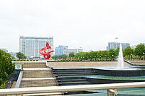 东莞中心广场的风景