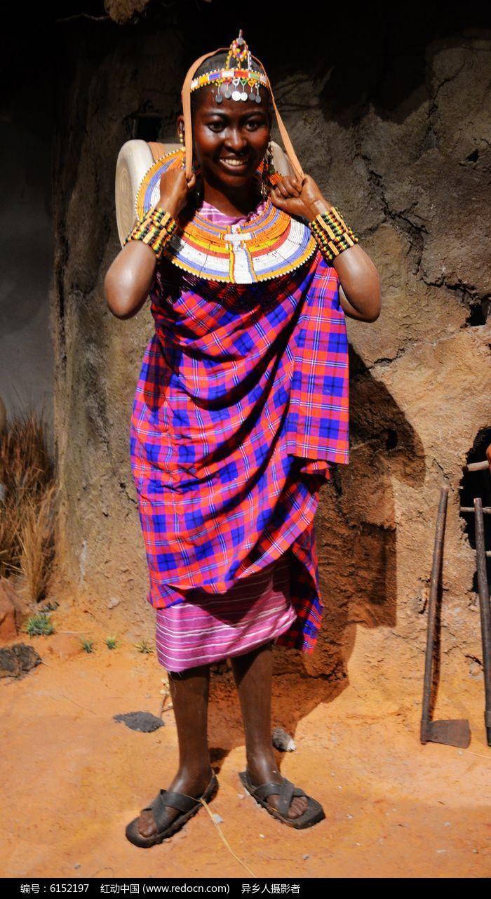 非洲土著文字_非洲土著部落女性