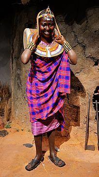 非洲土著部落女性