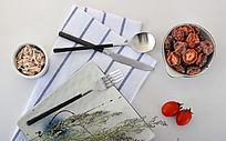 银色拉丝不锈钢刀叉勺系列