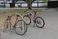 街头自行车