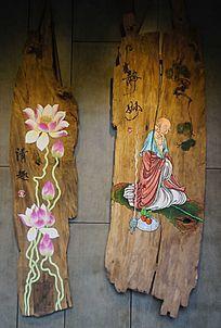 静妙清趣木雕画