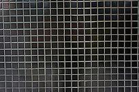 井字格黑瓷砖