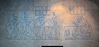 孔子课堂壁画