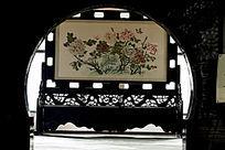 绵竹年画博物馆一角